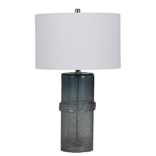 Mariana home lamps for your home mariana home ezra table lamp blue art glass finish 830024 aloadofball