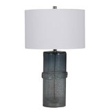 Mariana Home - Ezra Table Lamp - Blue Art Glass Finish - 830024