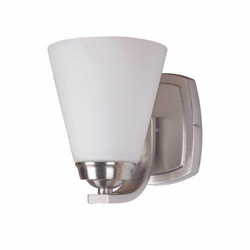 Mariana Home - One Light Metropolis Bath Vanity - Satin Nickel Finish - Wall Sconce - 870145