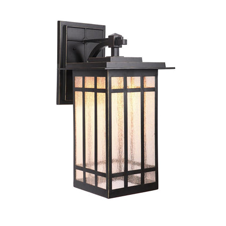 Alpine Small LED Outdoor Wall Lamp - Black