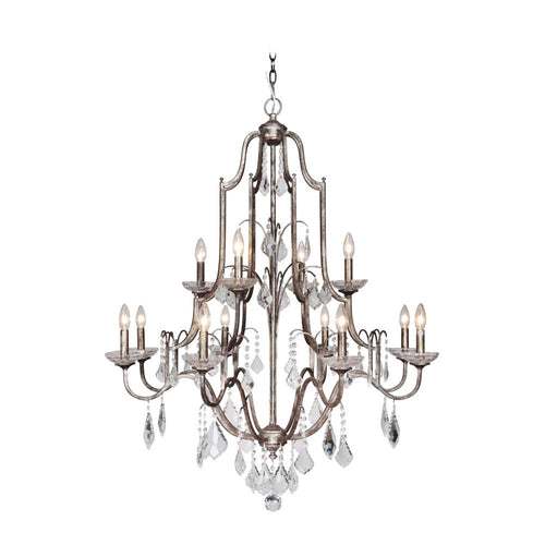 Adorned 12 Light Chandelier