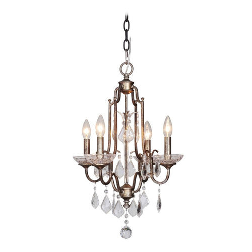 Adorned 4 Light Chandelier