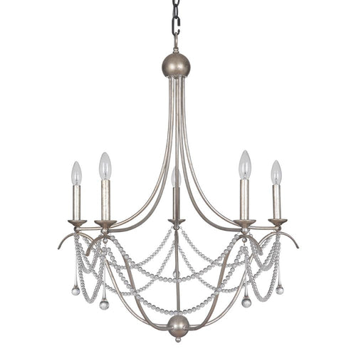 Mariana Home - Allure Chandelier - White Finish - 430610