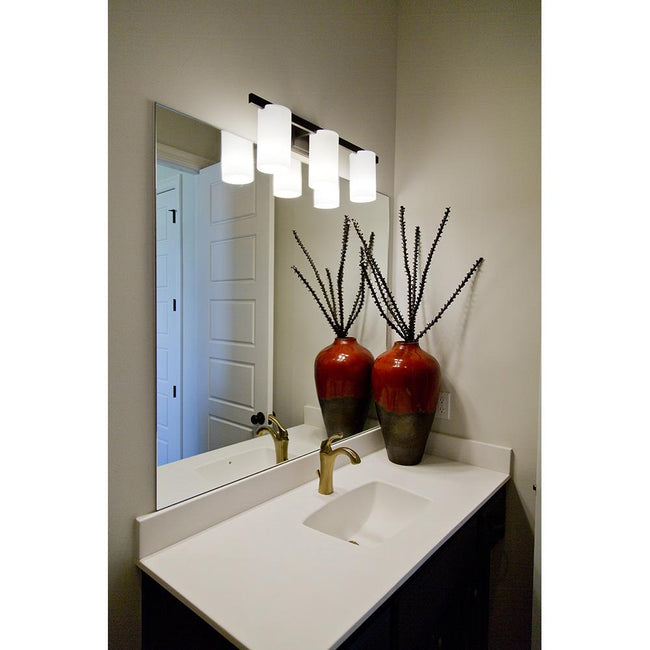 Urban 3 Light Vanity Sconce - Silver