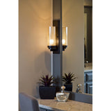 Florence One Light Sconce - Bronze