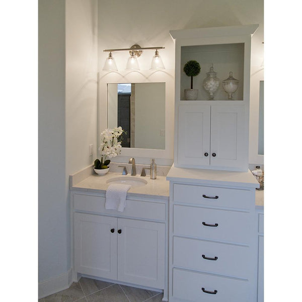 Winslet 3 Light Vanity - Silver
