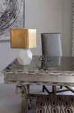 Gia Table Lamp - Gold Leaf