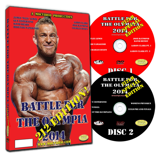 Battle For The Olympia 2014, 212 Edition DVD