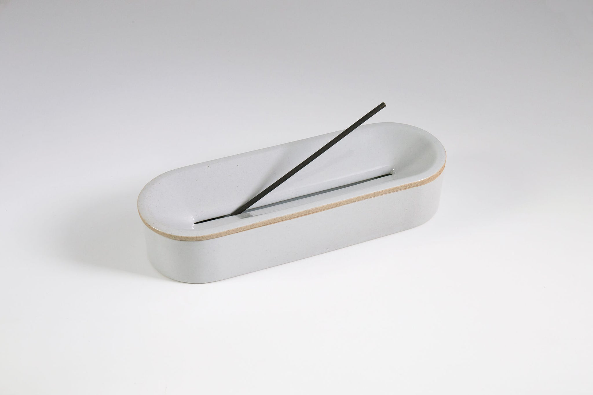 Porcelain Incense Burner - Gray