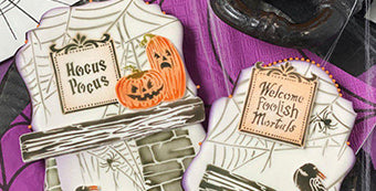 Julia's August 2020 Stencil Release - Home Spooky Home (A Plethora of Design Variations!)