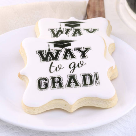Graduation Cookie Stencils