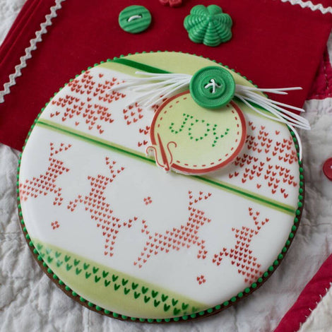 Christmas Cookie Stencils