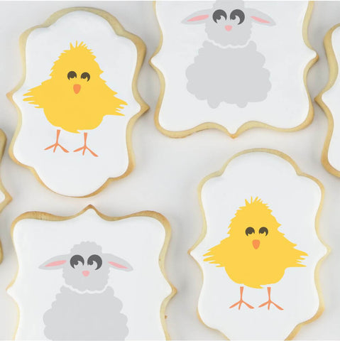 Easter Cookie Stencils