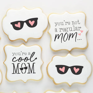 Mother's Day Cookie Stencils