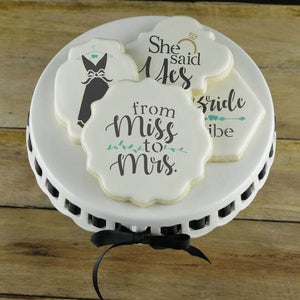 Wedding Cookie Stencils