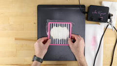 how to decorate cookies with stencils