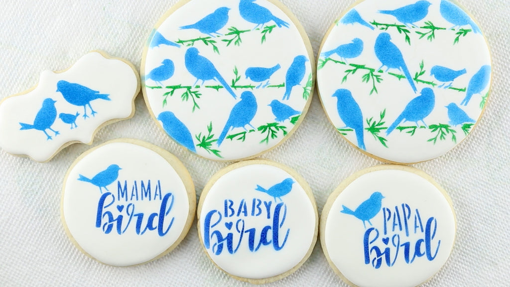 Now you have a creative flock of bird cookies for your family