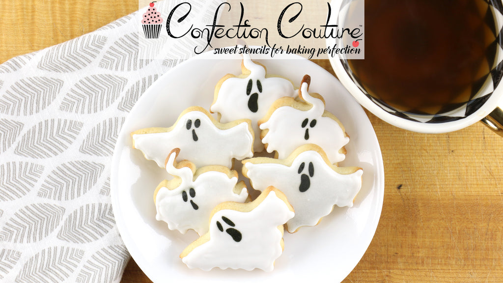 Ghost Cookies and Cutters