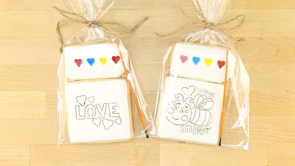 Paint Your Own Cookie Goodie Bags