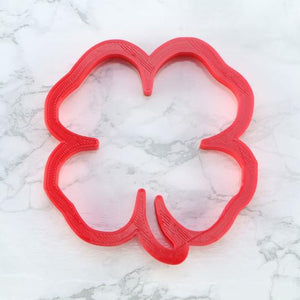 Four Leaf Clover Shaped Cookie Cutter