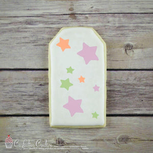 Stars Basic Background Cookie Stencil by Confection Couture