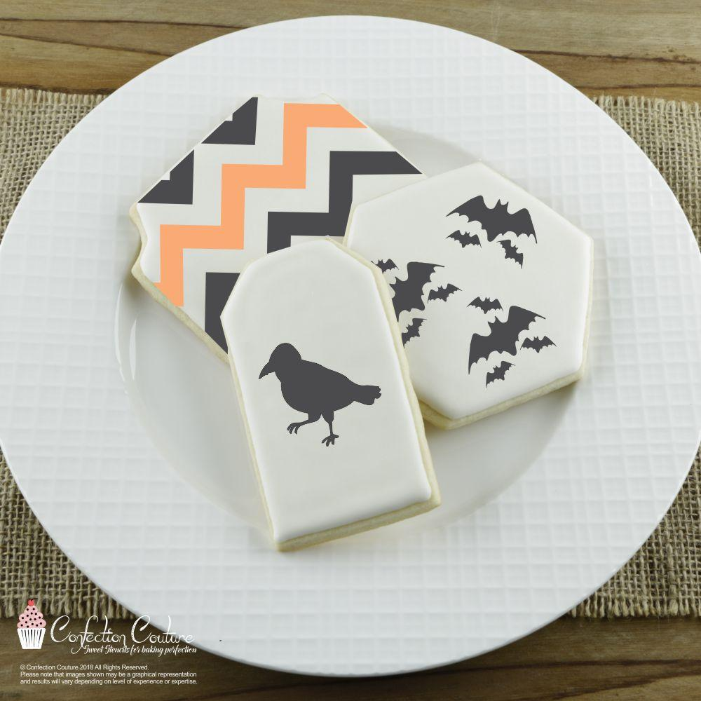 Halloween Accent Cookie Stencil Accents