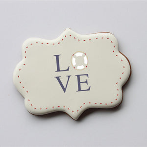 Nautical Wedding Words Cookie Stencil Words