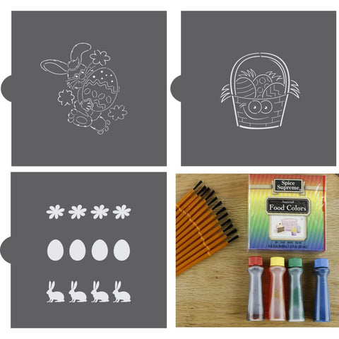 Easter Paint Your Own Cookie Stencil Kit