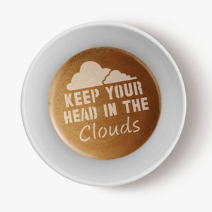 Rainbows and Clouds Barista Stencil 3 Piece Set