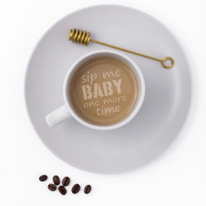 Coffee Quotes Barista Stencil 3 Piece Set