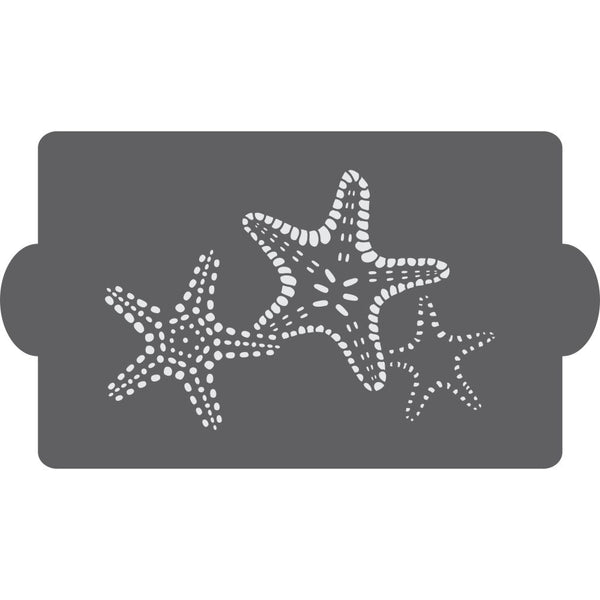 Starfish Cake Side Stencil
