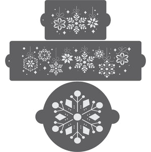 Snowflake Garland Cake Confection Collection