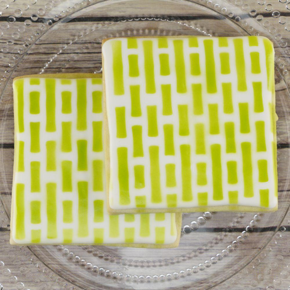 Bamboo Background Cookie Stencil