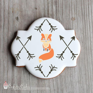 Forest Critters Accent Cookie Stencil