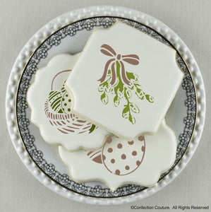 Easter Basic Accent Cookie Stencil by Confection Couture