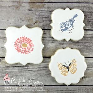 Spring Accent Cookie Stencil