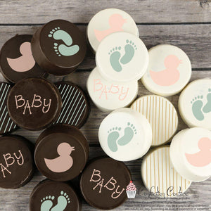 Baby Round Cookie Stencil 3 Piece Set