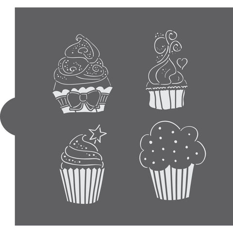 La Patisserie Basic Accent Cookie Stencil by Confection Couture