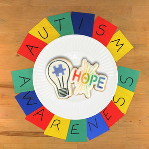 Autism Awareness Cookie Stencil