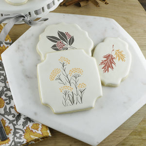 Woodland Walk Cookie Stencil