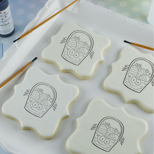 Easter Basket Paint Your Own Cookie Stencil