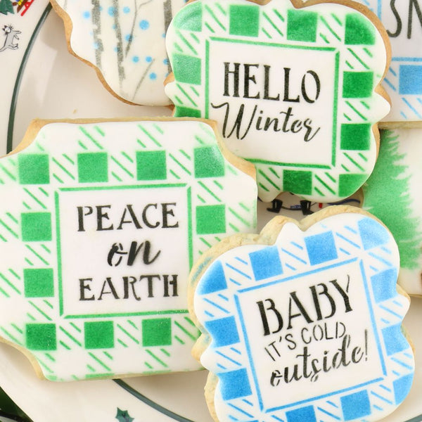 North Woods Winter Cookie Confection Collection