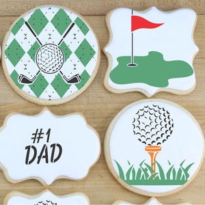 Golfing Cookie Confection Collection