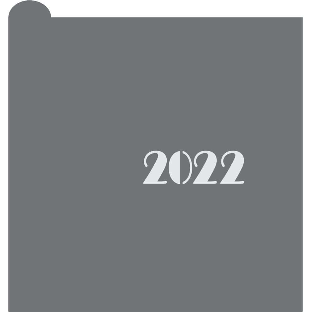 2022 Prettier Plaques Message Cookie Stencil