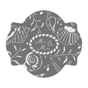 Seashore Dreams Prettier Plaques 5-Piece Cookie Stencil Set by Julia Usher
