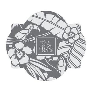 Tropical Opulence Prettier Plaques™ 5-Piece Cookie Stencil Set by Julia Usher