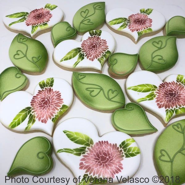 Chrysanthemum Dynamic Duos Cookie Stencil Set