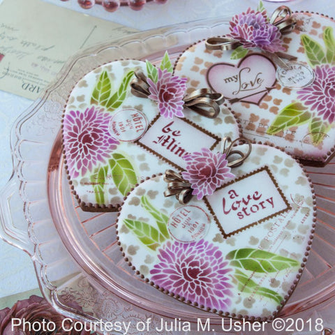 Love Letters Dynamic Duos™ 5 Piece Message and Frame Set by Julia Usher