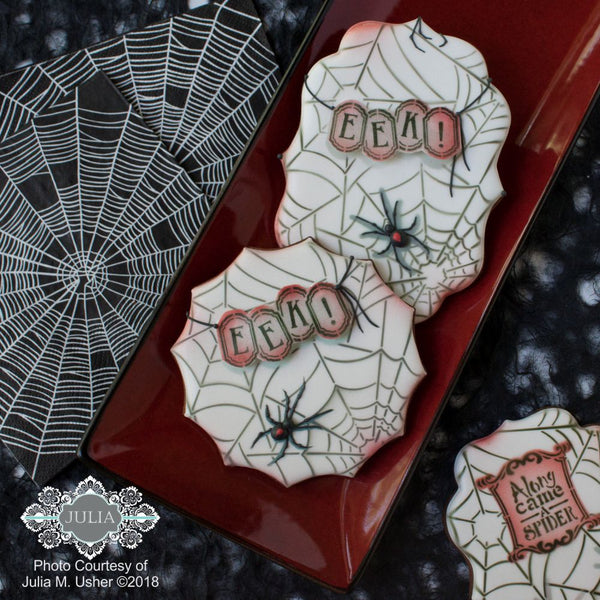 Along Came a Spider Dynamic Duos Messages Cookie Stencil Set