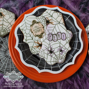 Along Came a Spider Dynamic Duos 7 Piece Message and Frame Set by Julia Usher